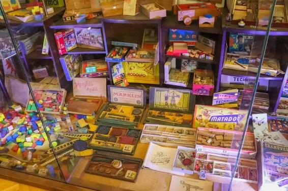 Alte Spiele im Spielzeugmuseum Keszthely