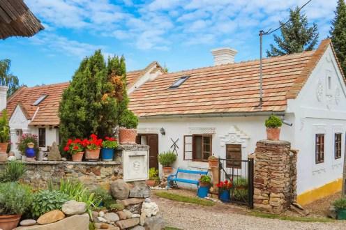 Traditionelles ungarisches Haus