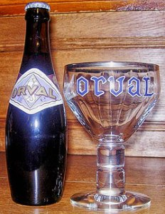 Orval and its eponymous glass