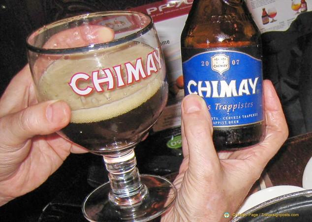 Chimay beer at Belgian Beer Festivals