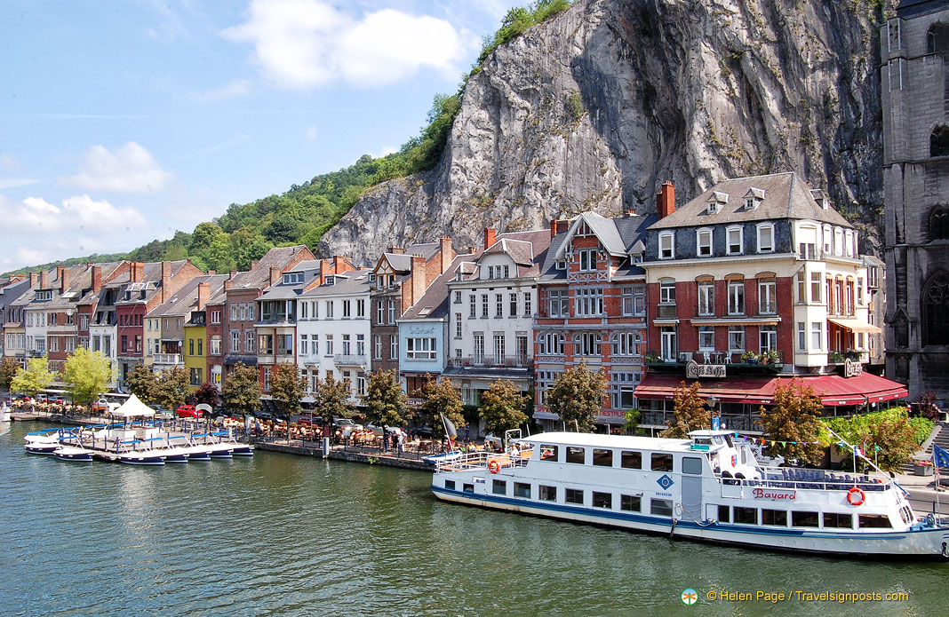 Dinant - A Picturesque Town on the River Meuse