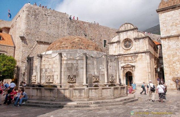Onofrio Fountain, Dubrovnik