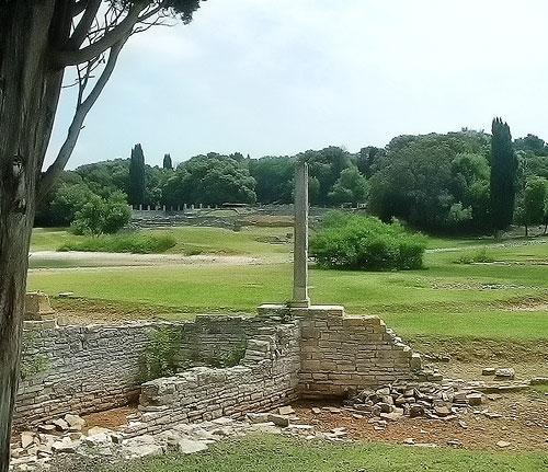 Roman villa, Veliki Brijun