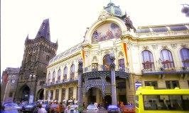 The Municipal House in Prague