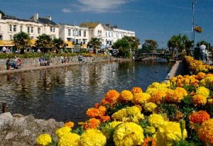 Dawlish and its beautiful parks