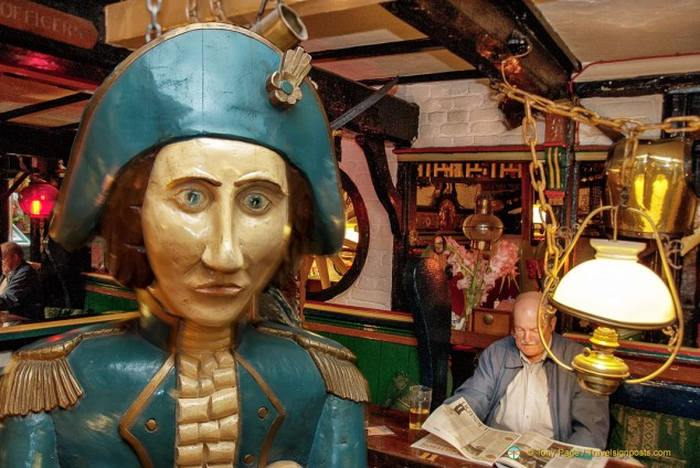 Admiral Benbow Pub in Penzance