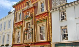 Egyptian House in Penzance