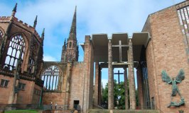 Coventry Cathedral and its Cross of Nails