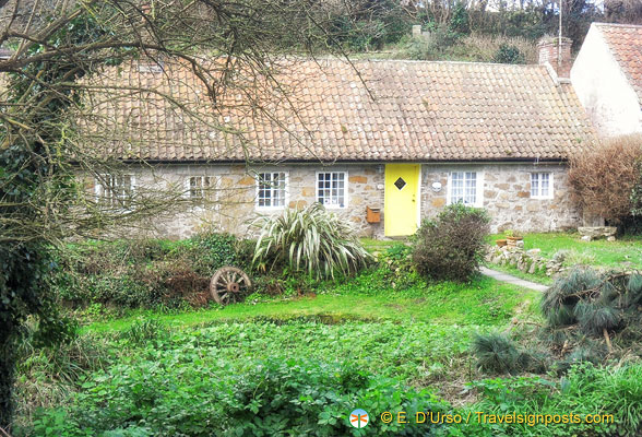 Guernsey country cottage, Channel Islands