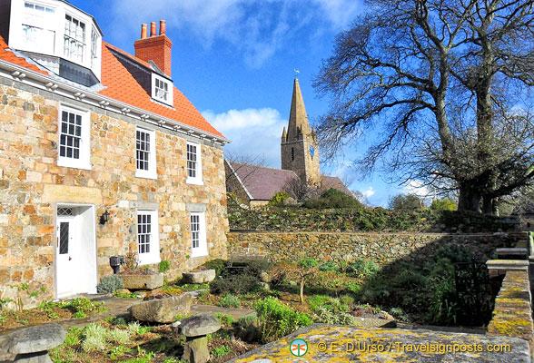 St Martins Church, Guernsey, Channel Islands