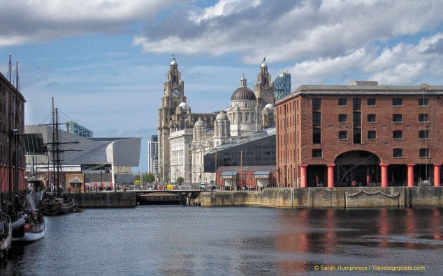 The Albert Dock area has many stylish shops, bars and restaurants and some of Liverpool's most interesting museums