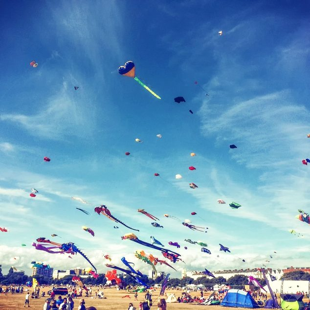 Southsea Common Kite Festival (C) Vikki Knowles