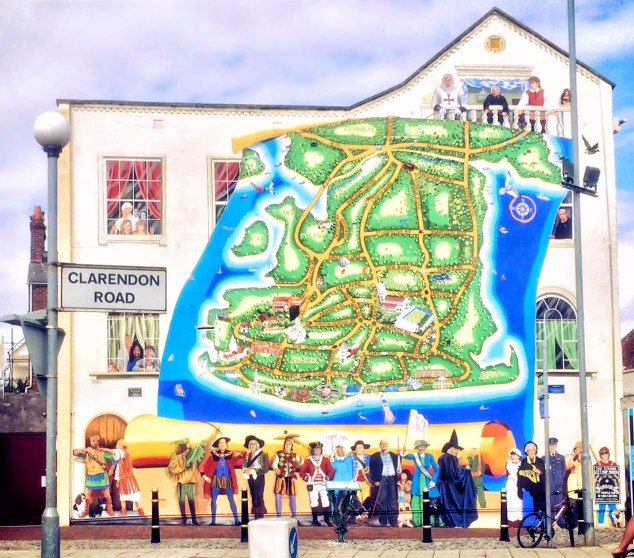 Mural Map of Portsmouth
