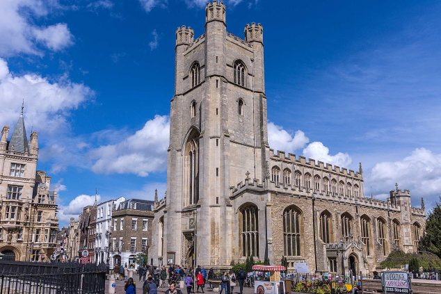 Great St. Mary's The University Church with its tower by Jean-Christophe BENOIST