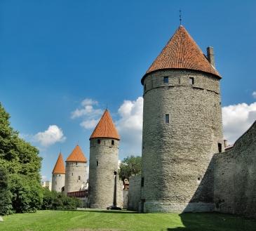 Tallinn medieval towers