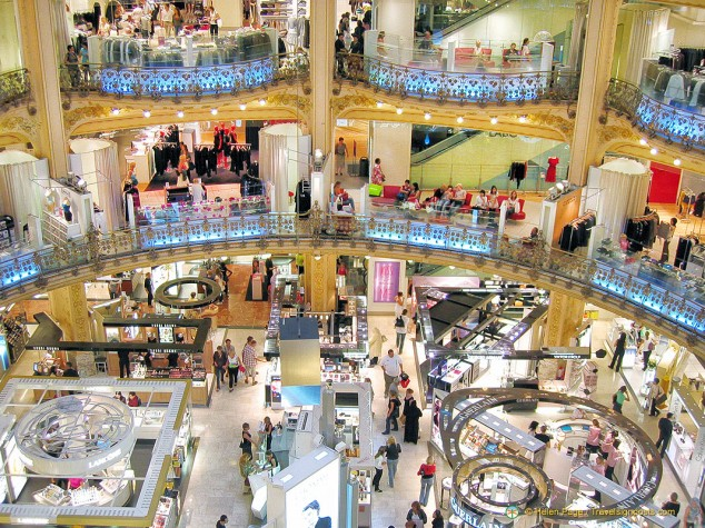 Galeries Lafayette - claim your VAT back!