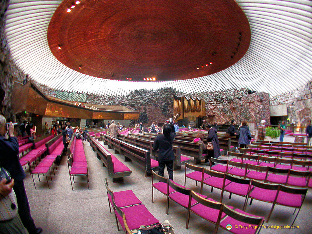 The Rock Church or Temppeliaukio Kirkko - Helsinki