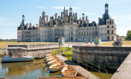 Chateau Chambourd in the Loire