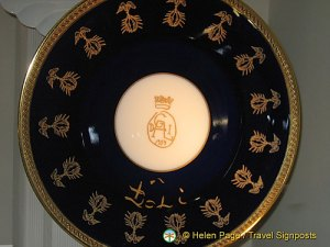 Limoges porcelain commissioned for Dali