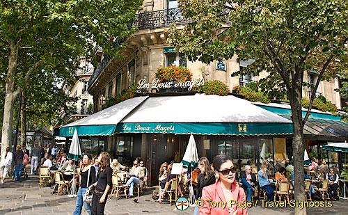 Les Deux Magots, Paris Cafes
