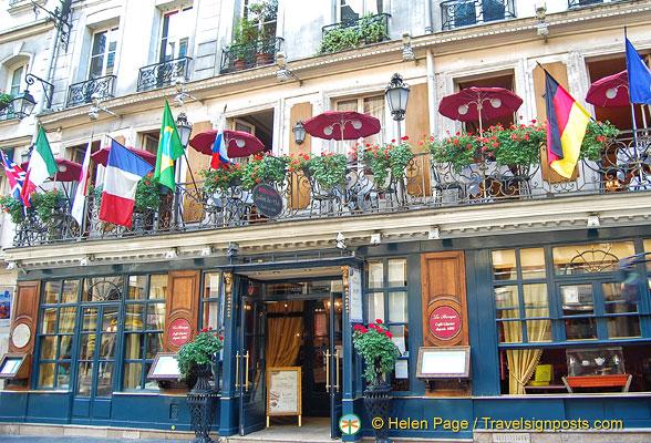 Restaurant Le Balzar Paris
