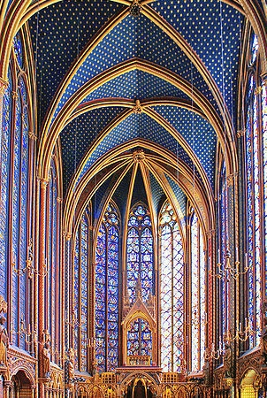 Sainte Chapelle Upper Chapel
