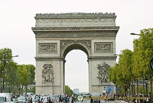 Arc de Triomphe | Triumphal Arch | Paris Attractions
