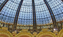 Shopping in Paris: Galeries Lafayette