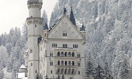 Neuschwanstein fairytale castle