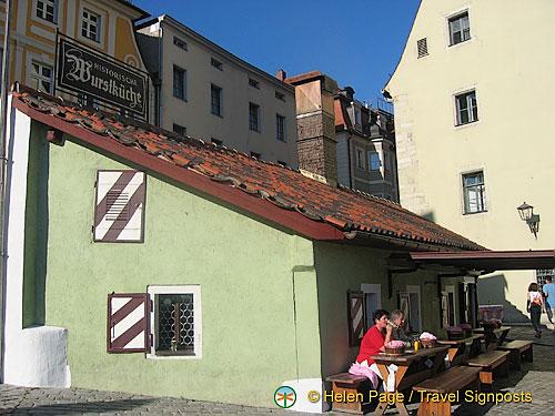 Regensburg bratwurst