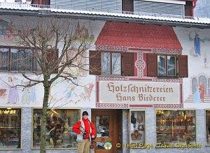 Oberammergau water-colour facades