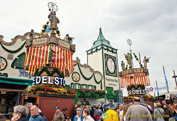 Augustiner Brau Oktoberfest Beer Tent