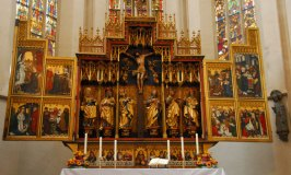 Twelve Apostles Altar at St. Jakobs Kirche – Rothenburg