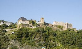 The Romantic Schloss Rheinfels at St. Goar