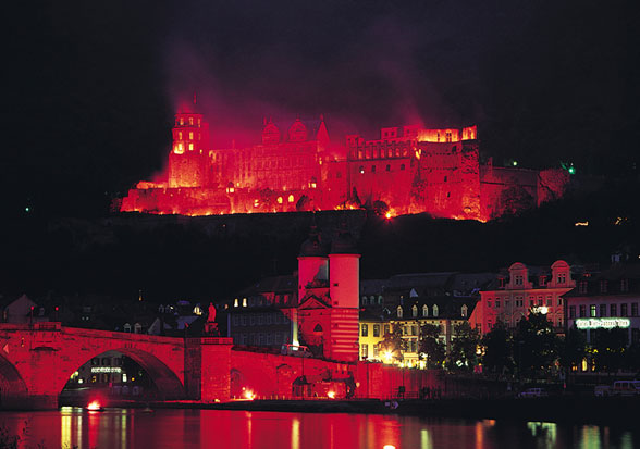 Heidelberg Castle Illuminations