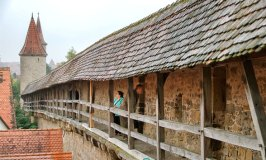 A Walk Along Rothenburg's Medieval Fortress Wall