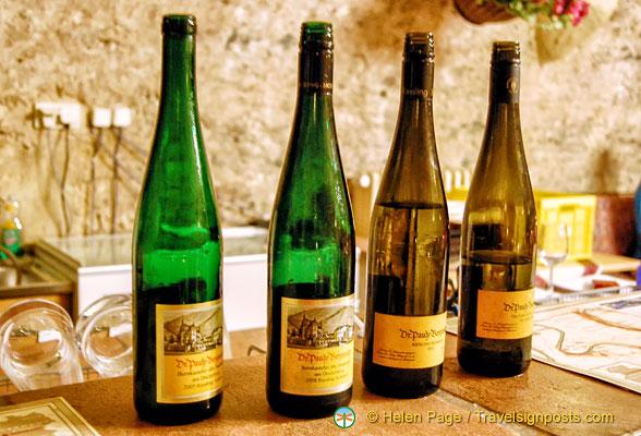 Wine-tasting in Bernkastel