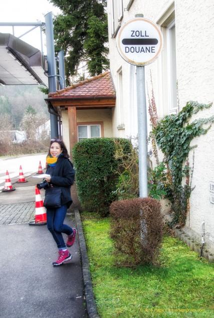 Customs Post at Stuhlingen