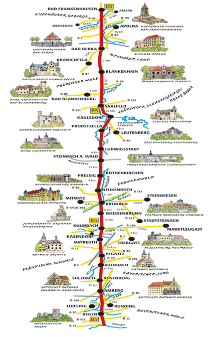 Beer and Castle Route