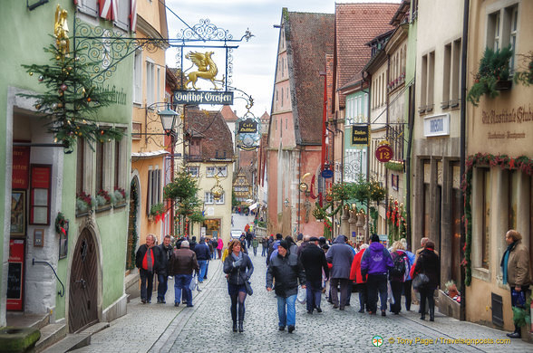Rothenburg at Christmas