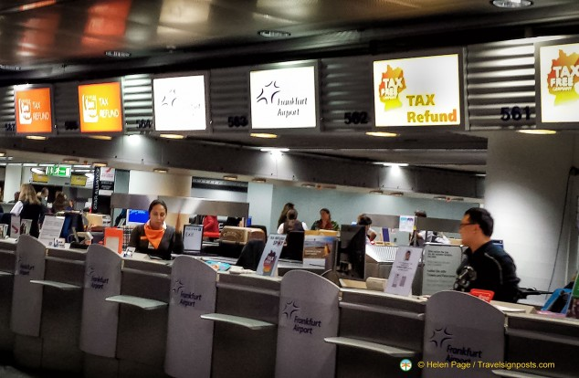How to Get Your VAT Refund at Frankfurt Airport - T1
