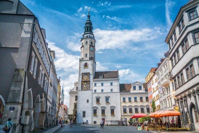 Görlitz Rathaus tower