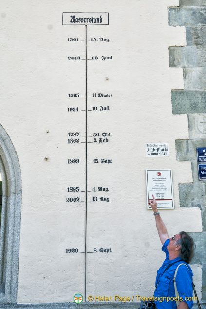 Passau flood marker