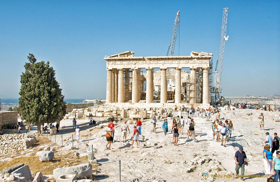 The Parthenon - A Temple Dedicated to Goddess Athena