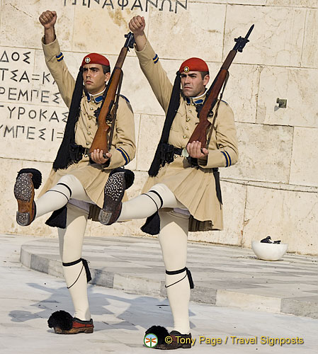 Changing of the Guards Ceremony - Athens