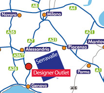 Directions to McArthurGlen's Serravalle Outlet
