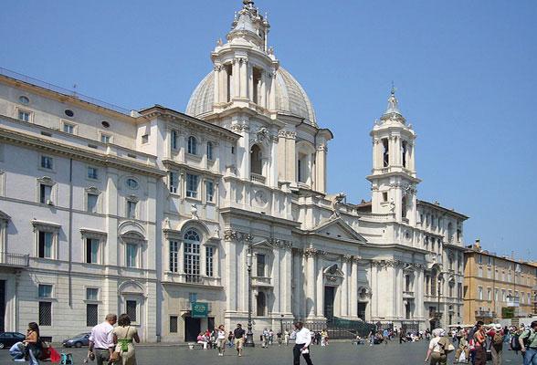 Sant Agnese in Agone - Piazza Navona
