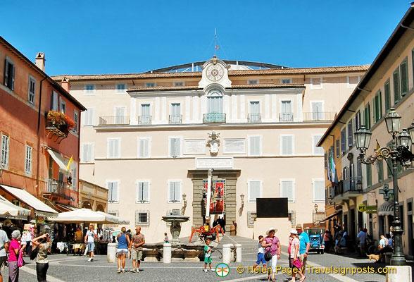 Castel Gandolfo Papal Palace