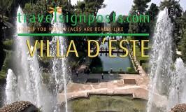 Villa d'Este Water Organ