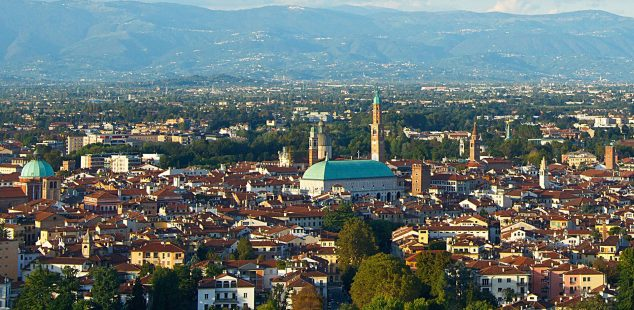 Vicenza from Monte Berico By Francesco Ongaro